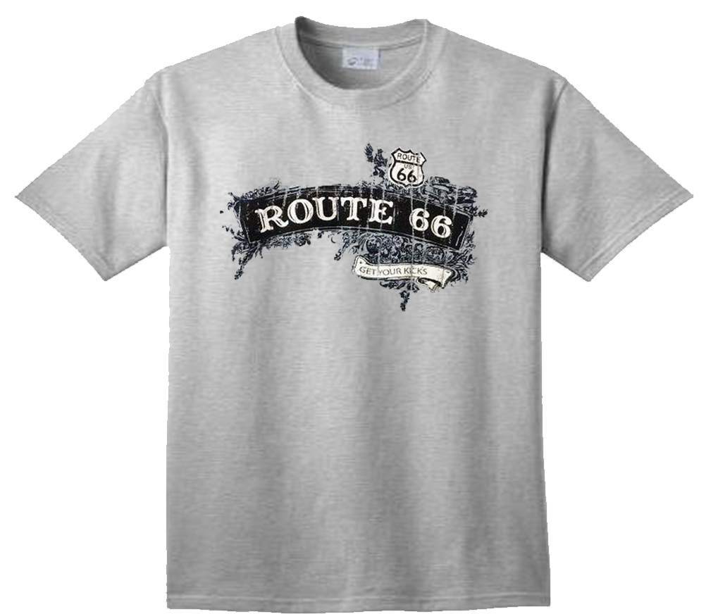 Route 66 Cotton T-Shirt