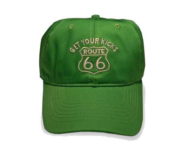 Route 66 Lime Green Cap