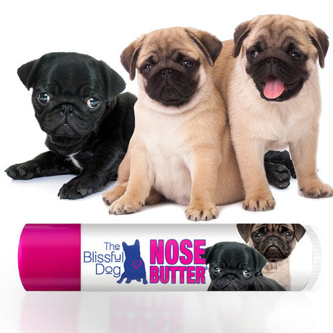 Pugs ORIGINAL NOSE BUTTER® Handcrafted All Natural Balm