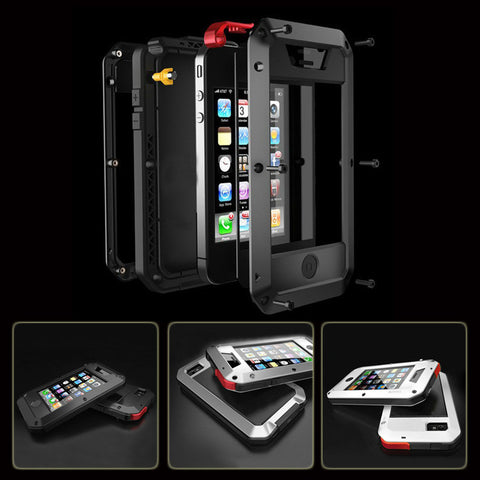 Metal Cover Case For iPhone (Waterproof | Shockproof)