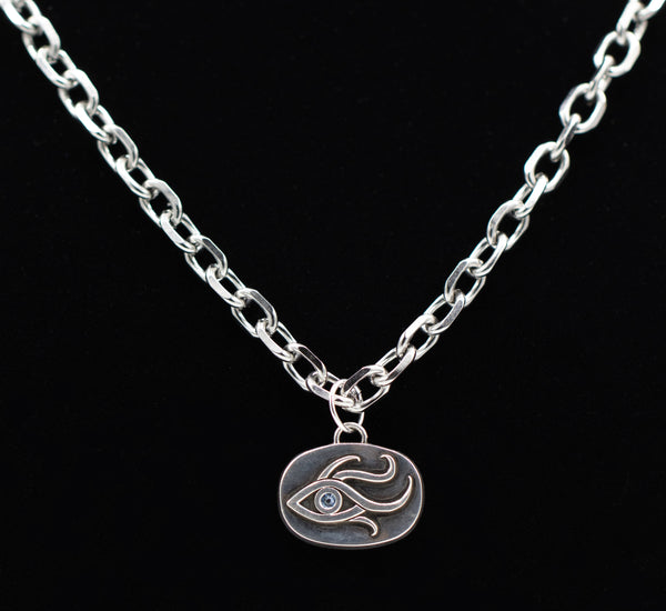 Men's Third Eye Pendant