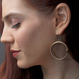 Single Ouroboros Earrings