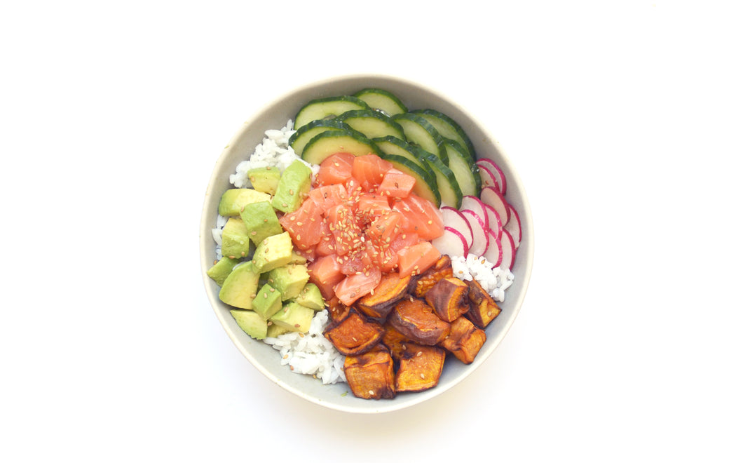 Avocado Poké Bowl