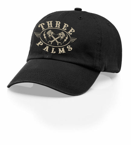 3 Palms Piston Mens Vintage Hat