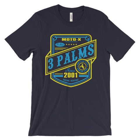 3 Palms Racing Heritage Tee
