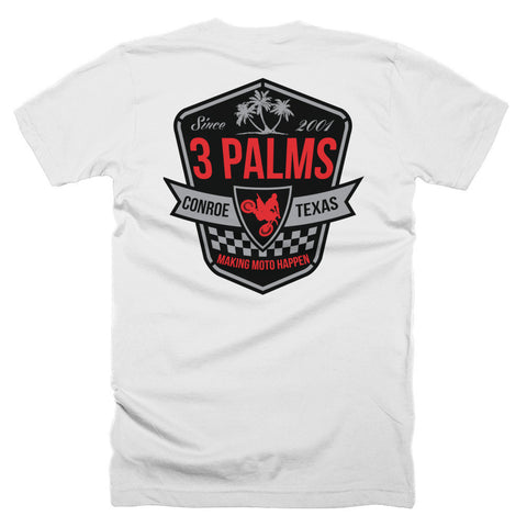 3 Palms Shield Tee