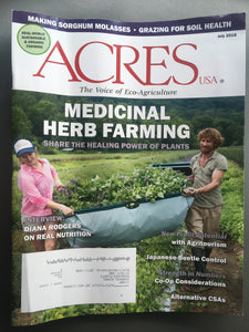 Herb Farmer Training Course (6 week) Fall 2019
