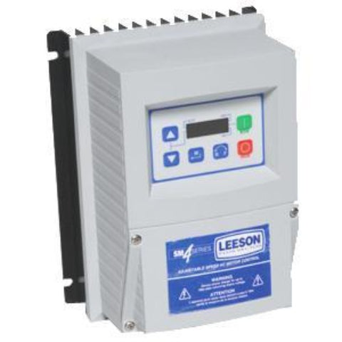 LEESON, 174655.00, 1/2 HP, 230V 1PH, 3PH, NEMA 4X, SM4, DRIVE FRÉQUENCY, - FRÉQUENCY VARIABLE VECTOR DRIVE - LEESON - electric motors - [product_tags]- motor electric - moteur électrique - moteurs - drive - replacement - venmar - hvac - méchoui - capacitor - condensateur