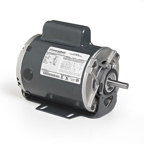B319, Marathon, 3/4 HP,1800 RPM, 056C17D2074, 115/230V, FR 56, C426V1 - HVAC ELECTRIC MOTOR - MARATHON - electric motors - [product_tags]- motor electric - moteur électrique - moteurs - drive - replacement - venmar - hvac - méchoui - capacitor - condensateur