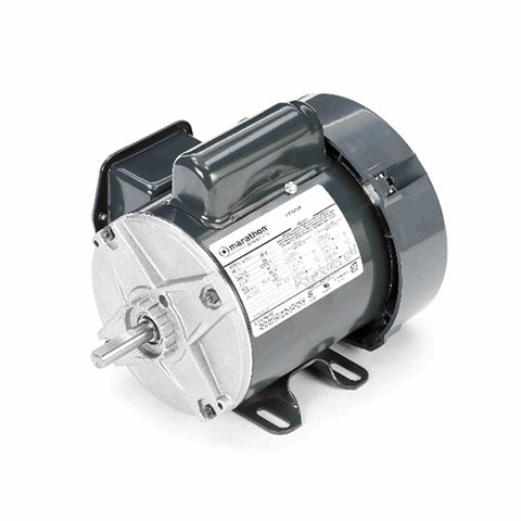 MARATHON, C242, 5KC32GN9, 1/4 HP, 1725 RPM, 115/230V, FR:48, TEFC, 1PH - SINGLE PHASE MOTORS - MARATHON - electric motors - [product_tags]- motor electric - moteur électrique - moteurs - drive - replacement - venmar - hvac - méchoui - capacitor - condensateur