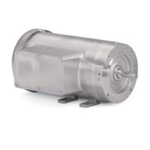 CFSWDL3507, Baldor, 3/4 HP, 1740 Rpm, 115/230V,56C, 35E4732L340G1, STAINLESS MOTOR - STAINLESS STEEL MOTOR - BALDOR - electric motors - [product_tags]- motor electric - moteur électrique - moteurs - drive - replacement - venmar - hvac - méchoui - capacitor - condensateur