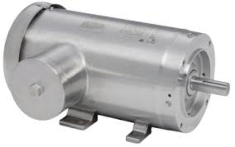 CFSWDM3713T-E, Baldor, Stainless, 15 Hp, 3500 Rpm, 230/460V, FR:215TC, IP69K - STAINLESS STEEL MOTOR - BALDOR - electric motors - [product_tags]- motor electric - moteur électrique - moteurs - drive - replacement - venmar - hvac - méchoui - capacitor - condensateur