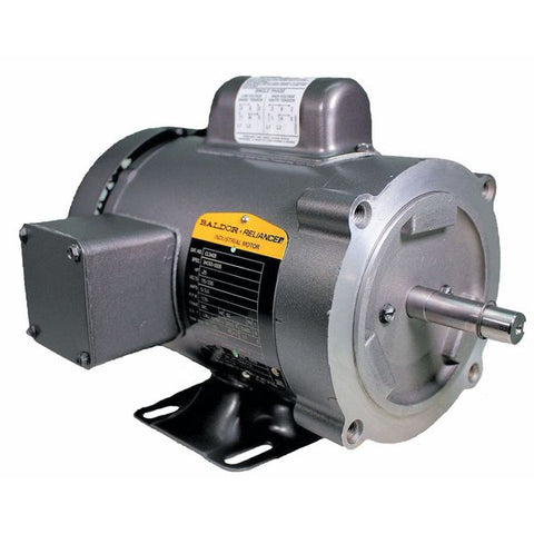CL3403, Baldor, 1/4 Hp, 1800 Rpm, 115/208-230V, Fr:56C, 34C62-5506, TEFC - FARM DUTY - BALDOR - electric motors - [product_tags]- motor electric - moteur électrique - moteurs - drive - replacement - venmar - hvac - méchoui - capacitor - condensateur