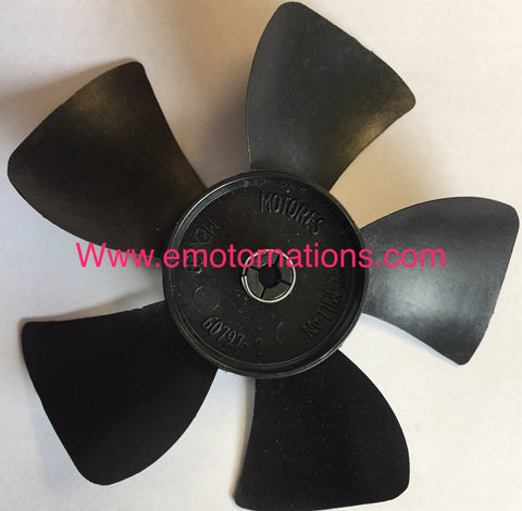 60797-2, MCMILLAN FAN 5 BLADES, 4'' INCH, FAN KITS SS3670, ROTOM R3670 - ACCESSORIES MOTORS & PARTS - OMNIDRIVE - electric motors - [product_tags]- motor electric - moteur électrique - moteurs - drive - replacement - venmar - hvac - méchoui - capacitor - condensateur