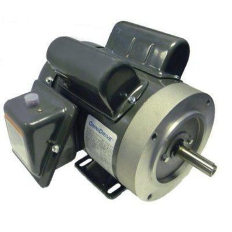 FD144C, OMNIDRIVE, 1 HP, 3600 RPM, 115/208-230V, FRAME 56C, TEFC - SINGLE PHASE MOTORS - OMNIDRIVE - electric motors - [product_tags]- motor electric - moteur électrique - moteurs - drive - replacement - venmar - hvac - méchoui - capacitor - condensateur