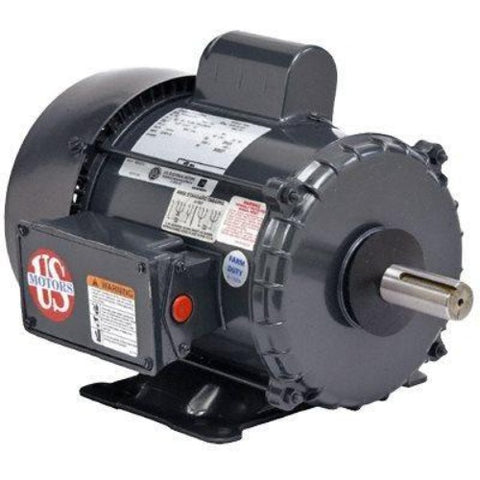 US MOTORS, FD1CM2PZ, 1 HP, 1800 RPM, 115/230V, FR:56, C063FKJ5564015B, F104 - FARM DUTY - US MOTORS - electric motors - [product_tags]- motor electric - moteur électrique - moteurs - drive - replacement - venmar - hvac - méchoui - capacitor - condensateur