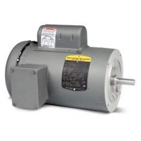 KL3403, Baldor, 1/4 HP, 1725 Rpm, 115/230V, Fr 56C, 34C63-5506, ROUND BODY - SINGLE PHASE MOTORS - BALDOR - electric motors - [product_tags]- motor electric - moteur électrique - moteurs - drive - replacement - venmar - hvac - méchoui - capacitor - condensateur