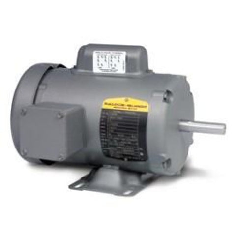 L3504M, Baldor, 1/2 Hp, 1725 Rpm,115/230V, 34K50-5594, 34C62-5422, 056C17F5325 - SINGLE PHASE MOTORS - BALDOR - electric motors - [product_tags]- motor electric - moteur électrique - moteurs - drive - replacement - venmar - hvac - méchoui - capacitor - condensateur