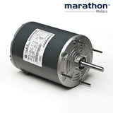 N201, Marathon, 1/4-1/12 HP, 115V, 1725/1140 RPM ,JWA 48S17T384F, TEAO, FR 48 - DIRECT DRIVE MOTOR - MARATHON - electric motors - [product_tags]- motor electric - moteur électrique - moteurs - drive - replacement - venmar - hvac - méchoui - capacitor - condensateur