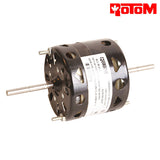 "R2-R415, MOTOR 1/65HP VENTILATION FAN & BLOWER 3.3"" DIA. DOUBLE SHAFT 1550 RPM 115V AIR KING - HVAC ELECTRIC MOTOR - ROTOM - electric motors - [product_tags]- motor electric - moteur électrique - moteurs - drive - replacement - venmar - hvac - méchoui - capacitor - condensateur"