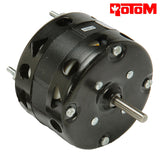 R3-R302, 1/100 HP, 1550 RPM, 230V, 0.2 AMPS, CW, SLEEVE BEARING, ROTOM, ALLTEMP Replaces E01004, L81512W1 - HVAC ELECTRIC MOTOR - ROTOM - electric motors - [product_tags]- motor electric - moteur électrique - moteurs - drive - replacement - venmar - hvac - méchoui - capacitor - condensateur