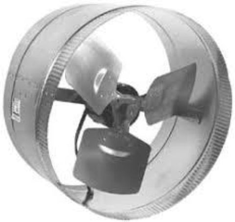 ROTOM T9-DB206C, T9-DB6, EXHAUST FAN 6'', 120V,250 CFM, WITH CABLE - EXHAUST FANS - ROTOM - electric motors - [product_tags]- motor electric - moteur électrique - moteurs - drive - replacement - venmar - hvac - méchoui - capacitor - condensateur