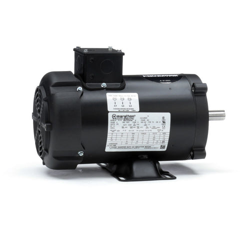 Y379, Marathon, 1 Hp, 1750 Rpm, 575V, 056H17F2020, TENV, 56C, MICROMAX - Micromax - MARATHON - electric motors - [product_tags]- motor electric - moteur électrique - moteurs - drive - replacement - venmar - hvac - méchoui - capacitor - condensateur