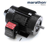 Y611, Marathon, 2 Hp, 1725 RPM, 575V,145THTR16031, 145TC,TENV,Blackmax - BLACKMAX MOTORS - MARATHON - electric motors - [product_tags]- motor electric - moteur électrique - moteurs - drive - replacement - venmar - hvac - méchoui - capacitor - condensateur