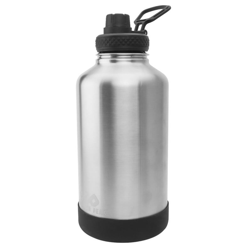 64 oz Growler - Premium - Silver
