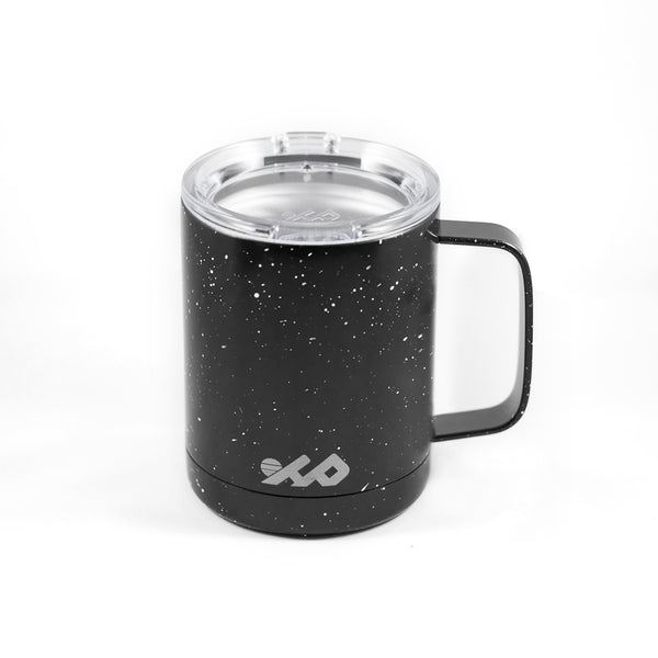 12 oz Insulated Camping Mug (Vintage Black)