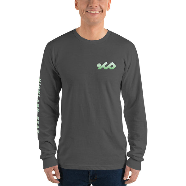 Green Mountain Top Long Sleeve