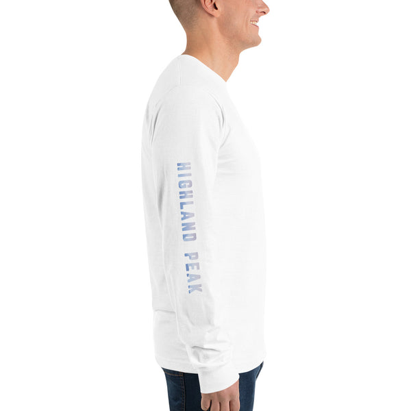 Blue Mountain Top Long Sleeve