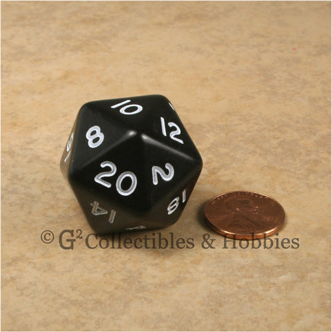 D20 Jumbo 30mm Opaque Black
