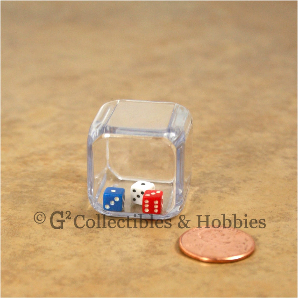 D6 25mm Triple Dice - 3 in a cube