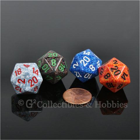 D20 RPG Dice Set : Elemental 4pc