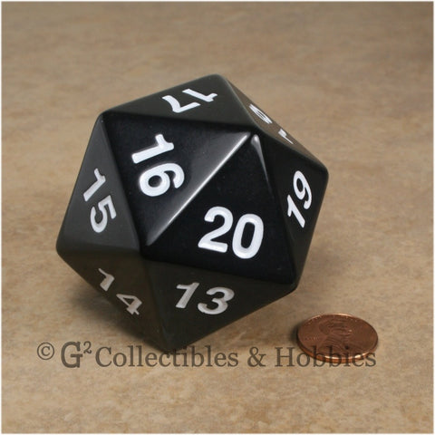 D20 Giant 55mm Opaque Black