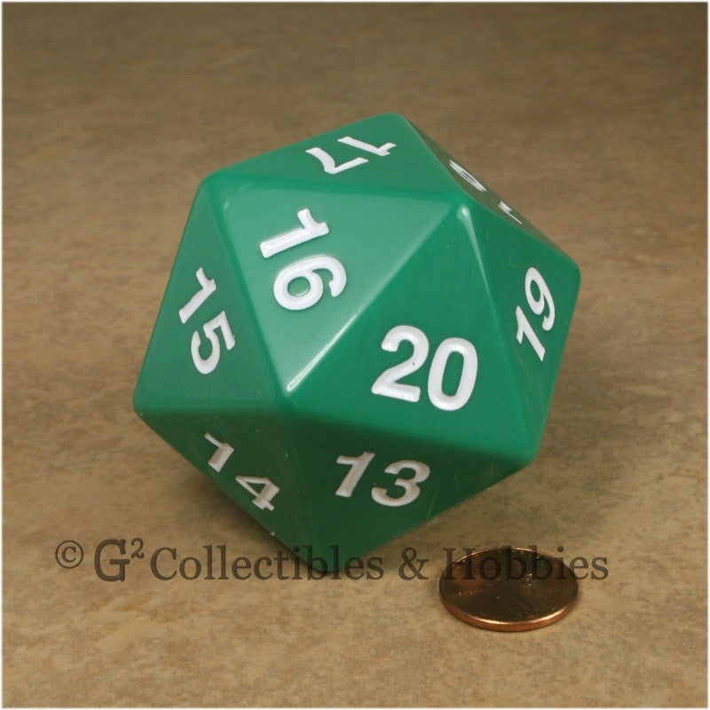 D20 Giant 55mm Opaque Green