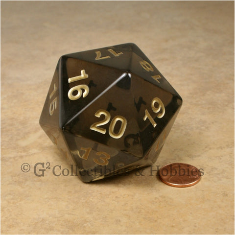 D20 Giant 55mm Transparent Smoke
