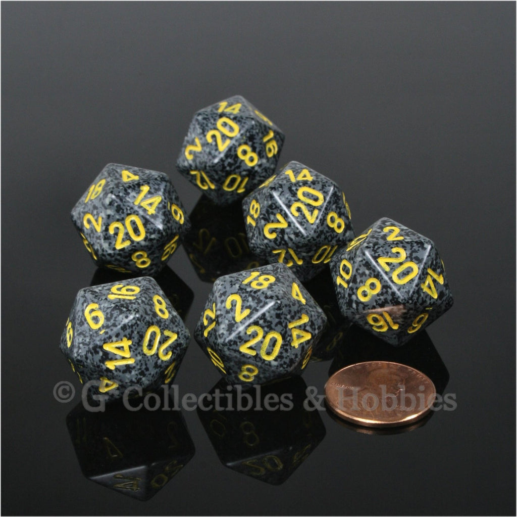 D20 RPG Dice Set : Urban Camo 6pc
