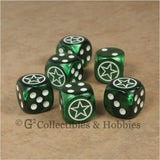 WWII Axis & Allies 6pc Dice Set - US Army Invasion Star