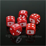 Imperial Japanese Navy Rising Sun Flag 6pc Dice Set