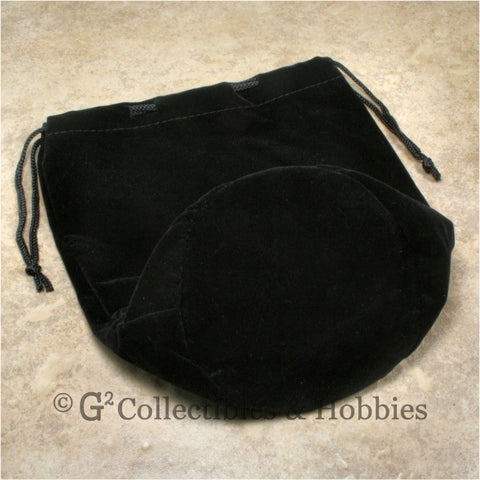 Dice Bag: Extra Large Black Velveteen