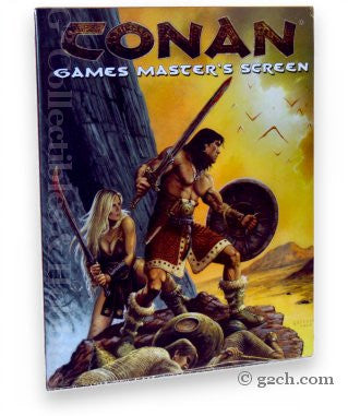 Conan RPG: Game Master's Screen