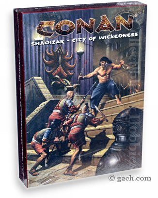 Conan RPG: Shadizar - City of Wickedness Box Set
