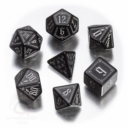 RPG Dice Set Pathfinder Carrion Crown 7pc