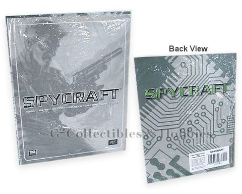 Spycraft Game Control Screen and Agent Record Sheets