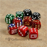 Axis & Allies 10pc Dice - Set B