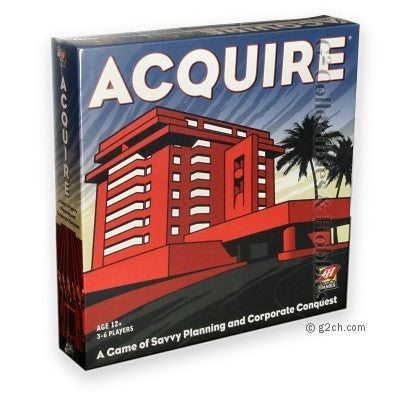 Acquire (2008 Avalon Hill Square Box)