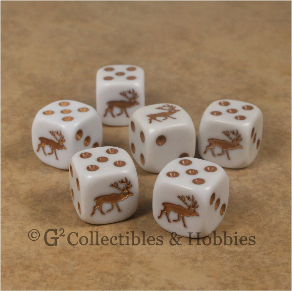 Elk 6pc Dice Set