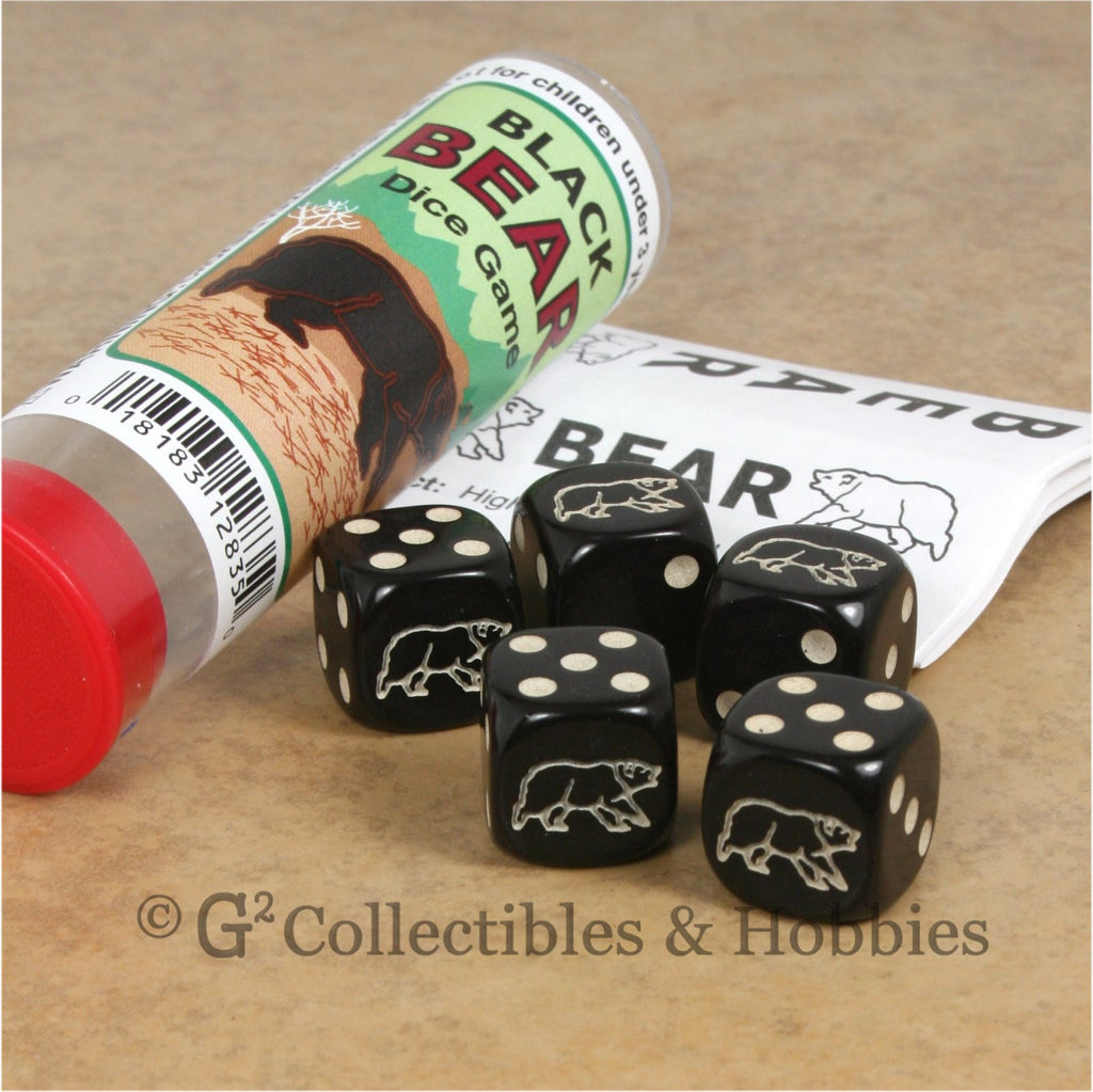 Black Bear Dice Game
